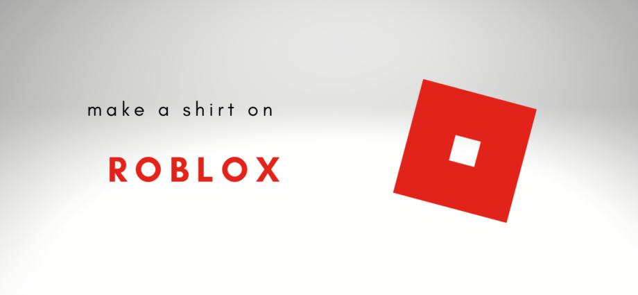 Make a Shirt on ROBLOX