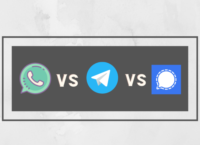 Signal vs WhatsApp vs Telegram