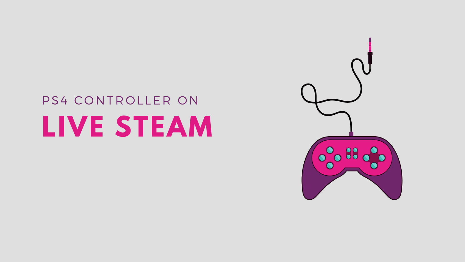 How to Use PS4 Controller on Steam?