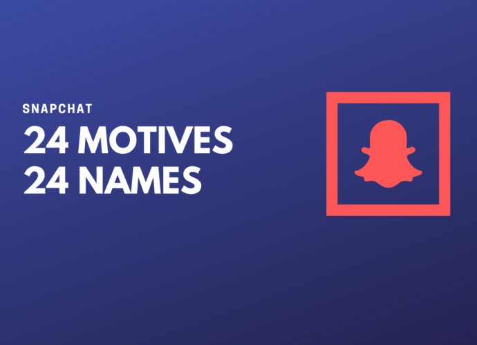 What Is Snapchat 24 Motives 24 Names Games?